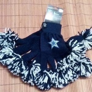Other - Cowboys Spirit fingers gloves